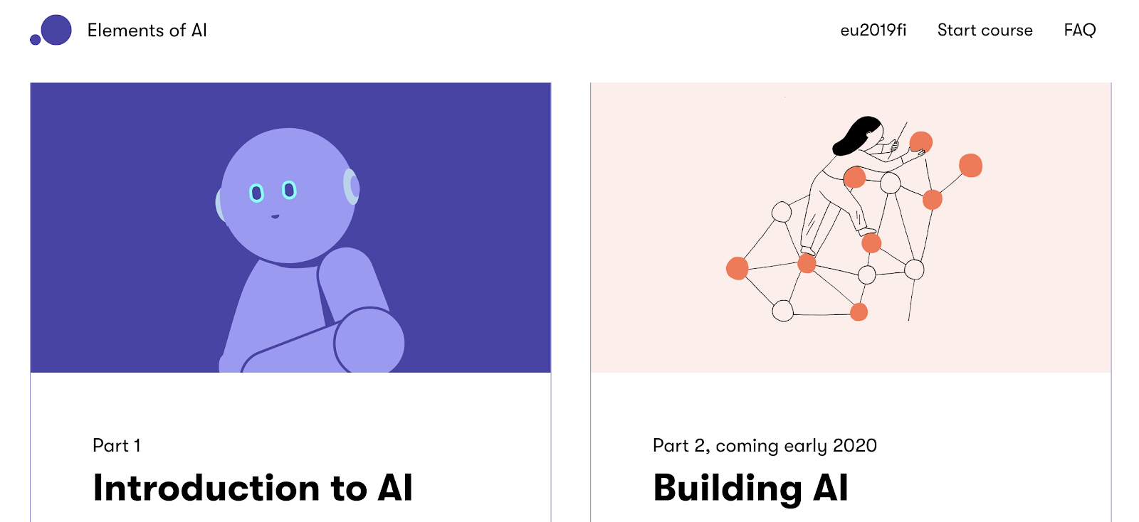 Elements of AI courses
