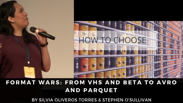 Format Wars: from VHS and Beta to Avro and Parquet