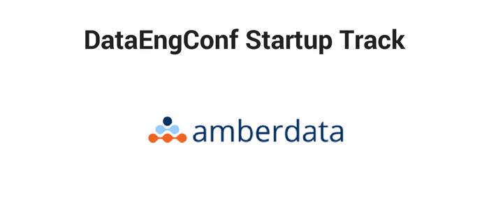 DataEngConf Startup Track ft Amberdata