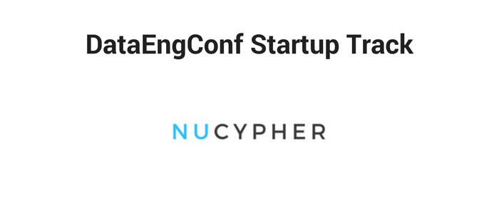 DataEngConf Startup Track ft NuCypher