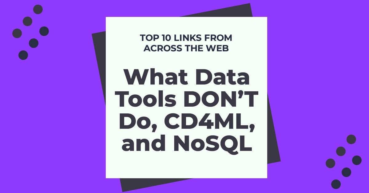 CD4ML and NoSQL
