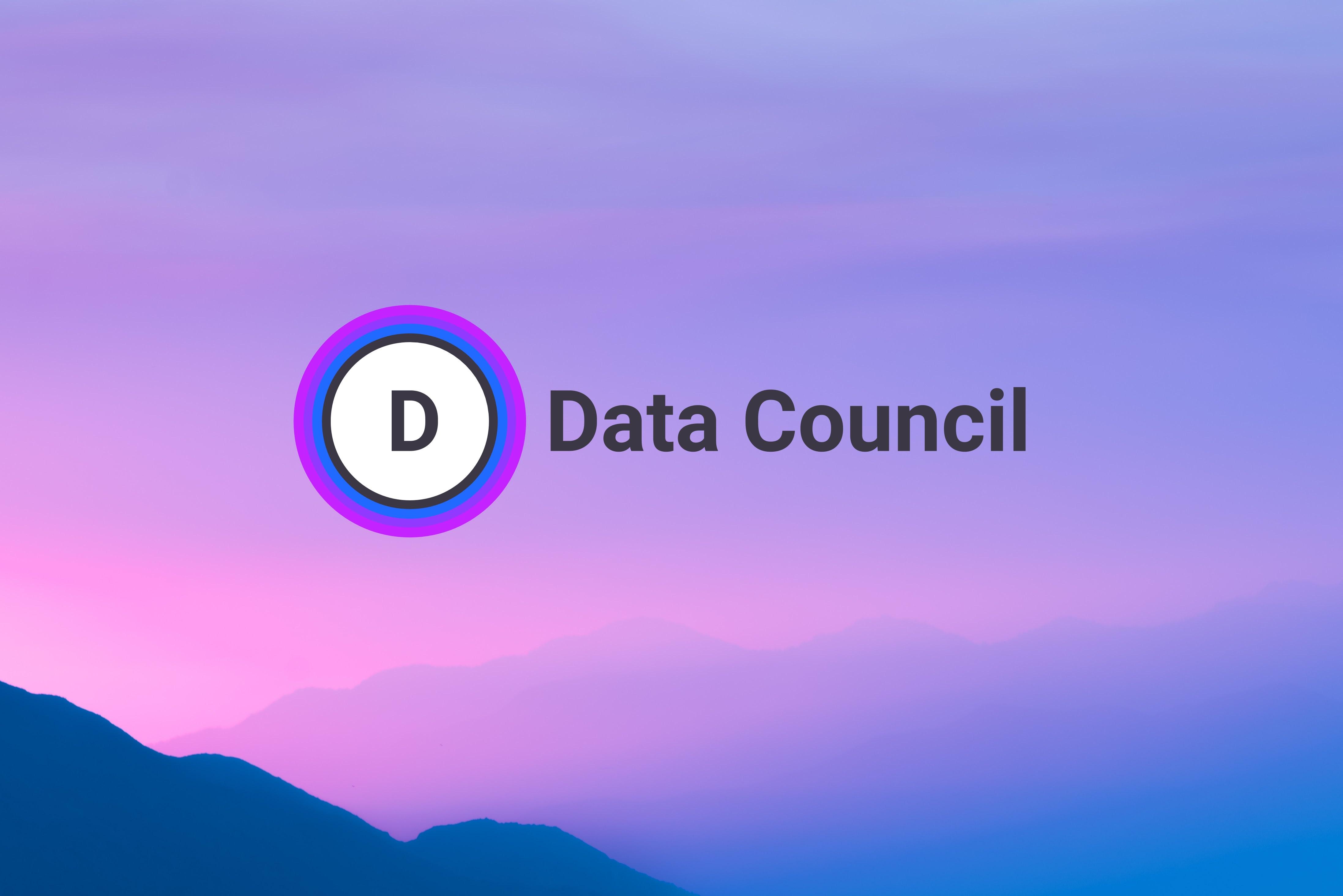 Data Council | San Francisco 2019
